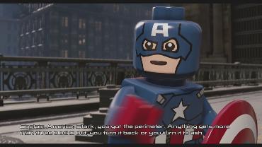 angelsk playing LEGO Marvel's Avengers