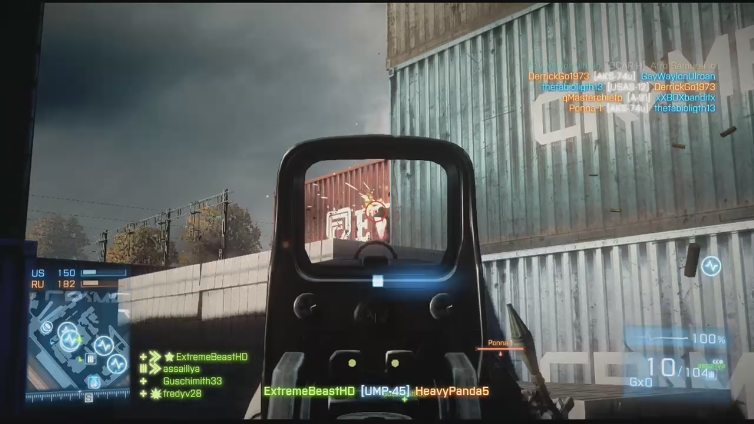 ExtremeBeastHD playing Battlefield 3
