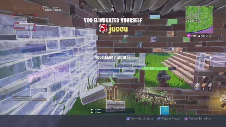 juccu - Xbox One Videos - Fortnite Tracker